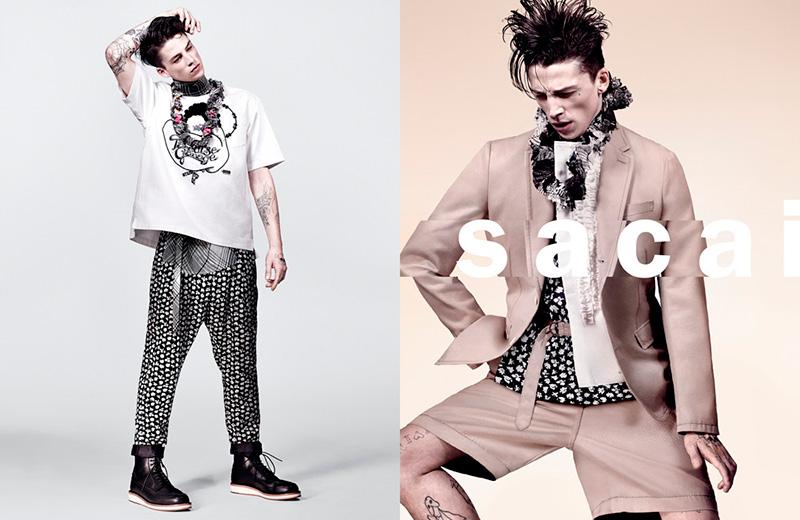 Sacai Spring/Summer 2016 Menswear Campaign
