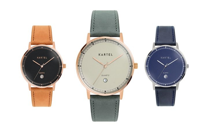 Introducing the Haig watch collection by Kartel