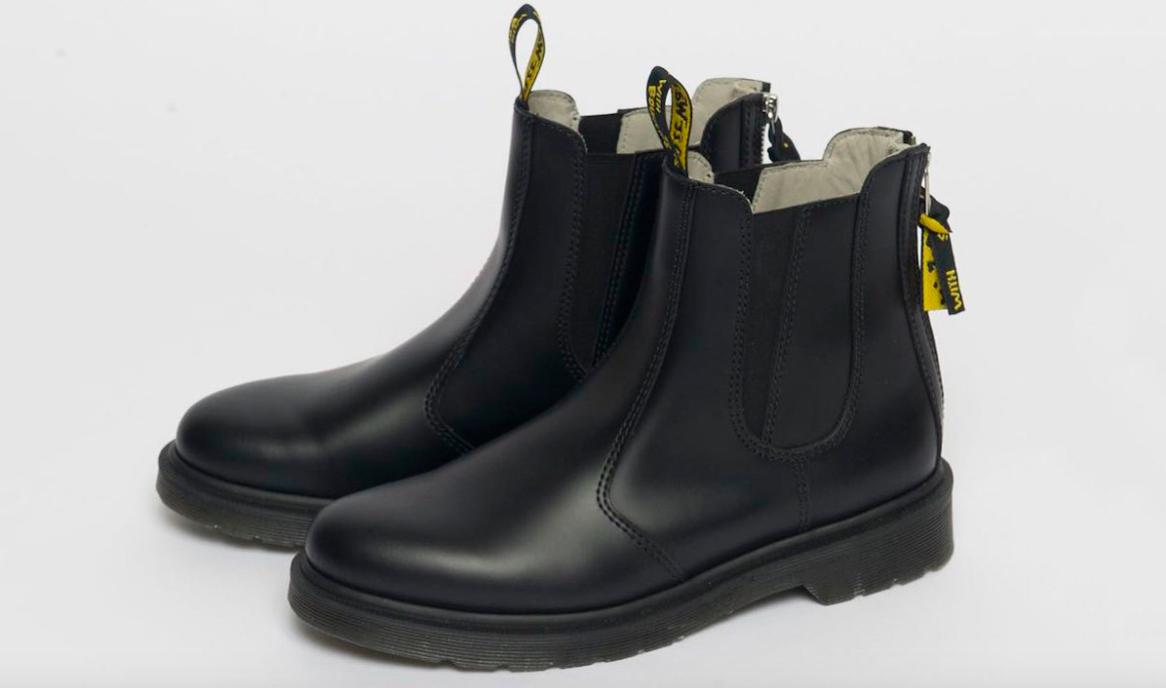 Yohji Yamamoto Reimagines The Classic Dr. Martens' Chelsea Boot