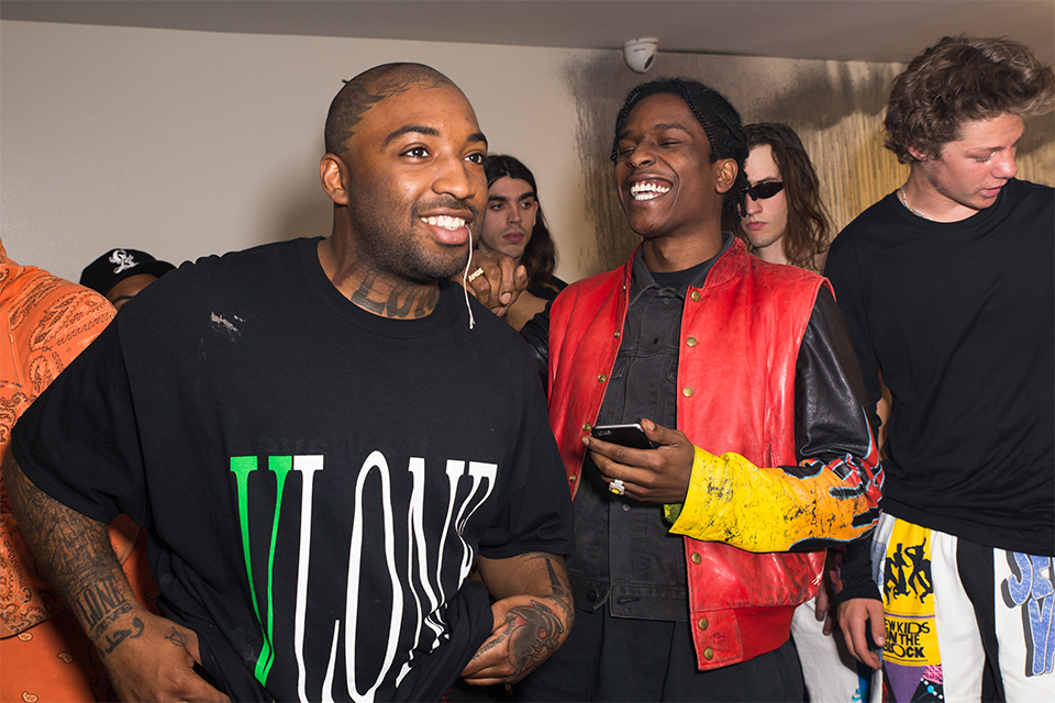A$AP Rocky & A$AP Bari Launch VLONE in LA