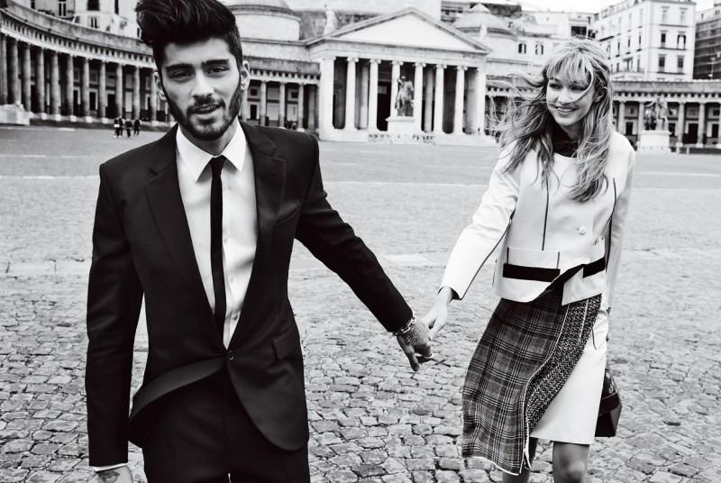 Zayn Malik & Gigi Hadid for American Vogue