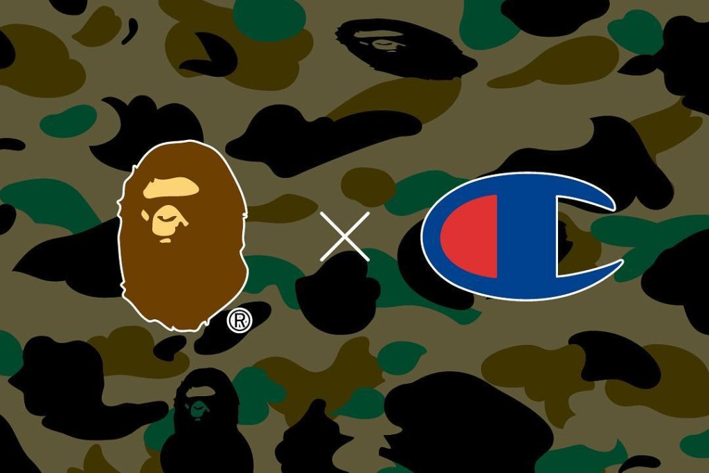 A Bathing Ape x Champion Collab Coming Soon