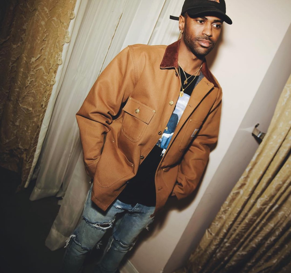 Spotted: Big Sean Rocks Carhartt