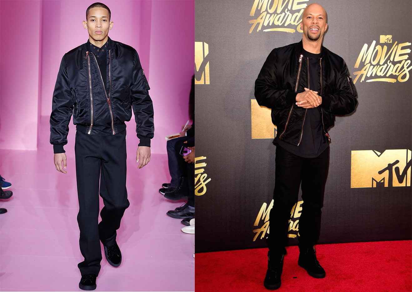 Spotted: Common In Givenchy AW16 at the MTV Movie Awards
