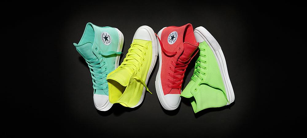 Converse release Neon Chuck Taylor All Star II