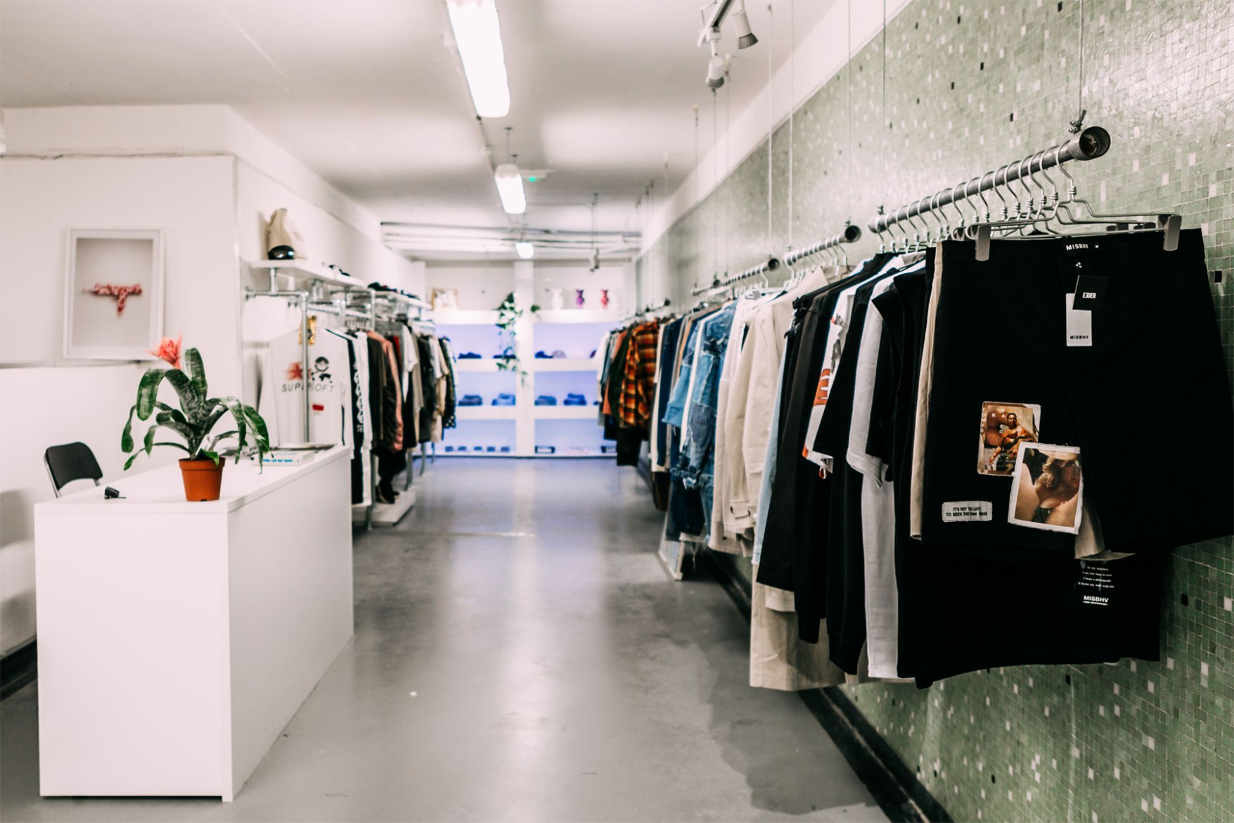 East London Tube Station Toilet Converted Into Streetwear Pop-Up
