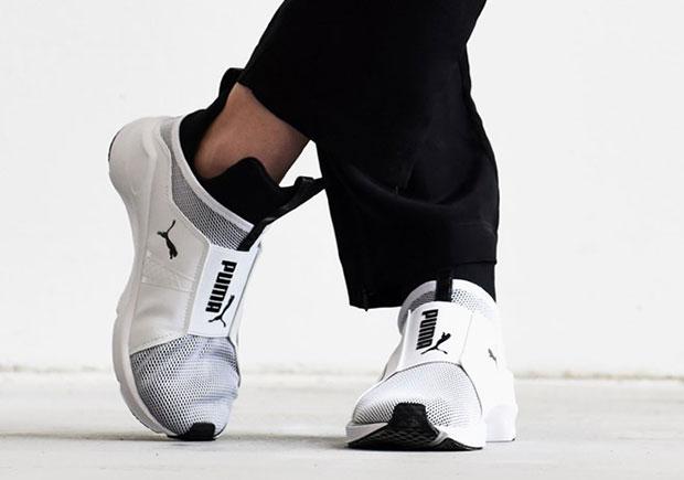 First Look: Kylie Jenner PUMA Fierce Core Sneakers
