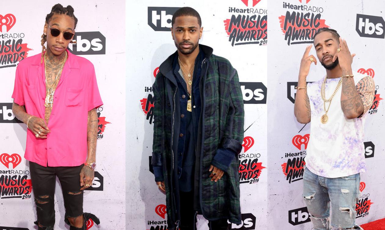 Red Carpet: iHeartRadio Awards 2016 Men's Looks