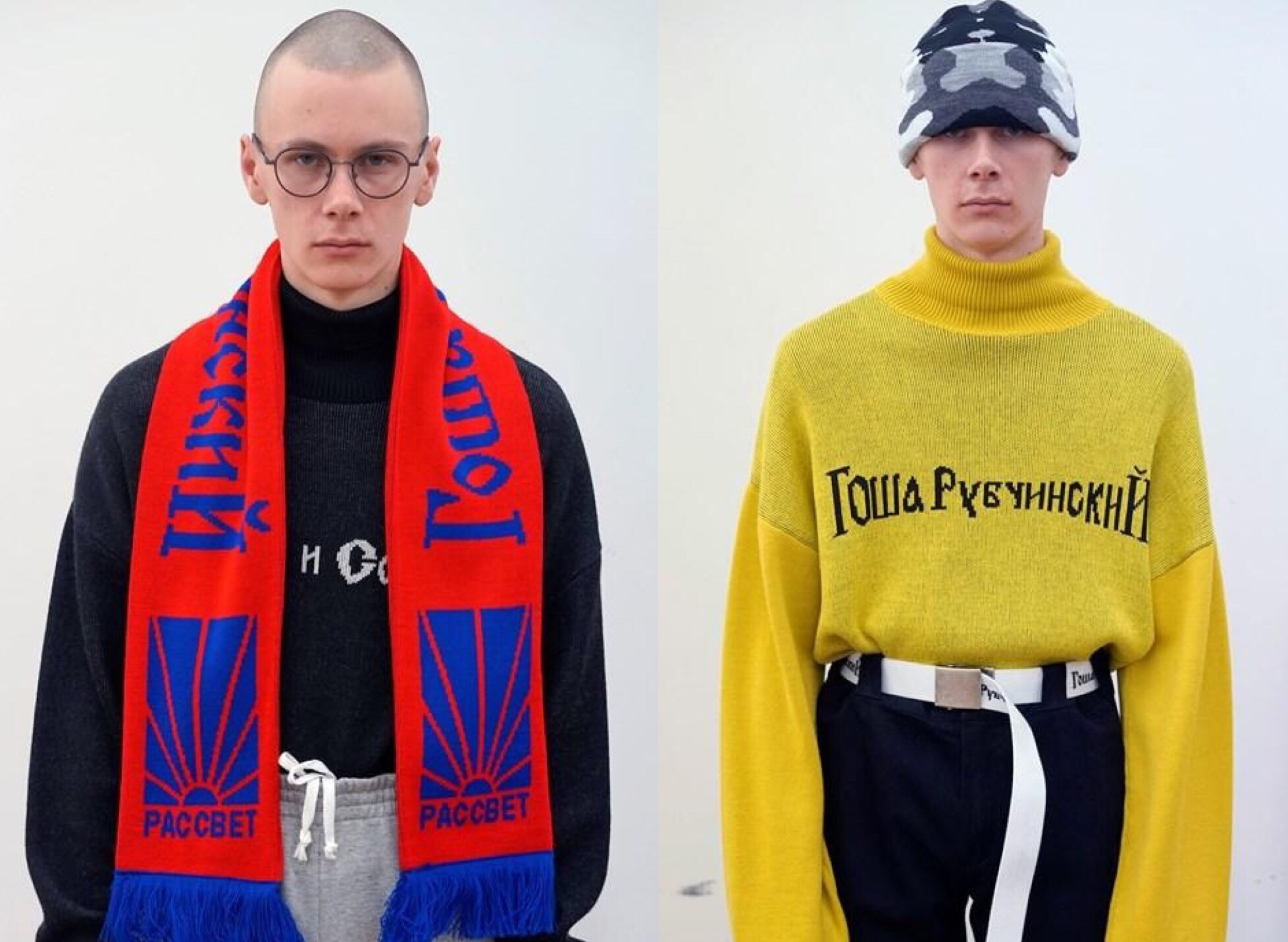A Closer Look: Gosha Rubchinskiy Fall/Winter 2016 Collection
