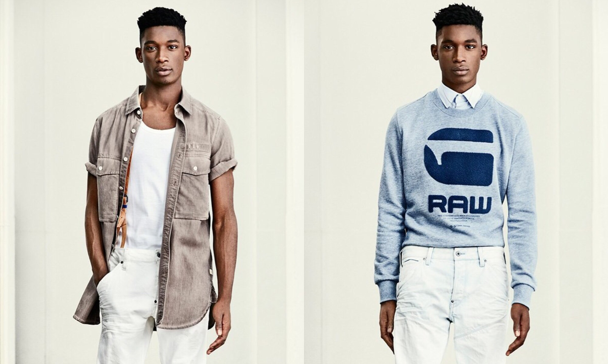 """G-STAR Presents """"RAW Essential"""" Spring/Summer 2016 collection"""