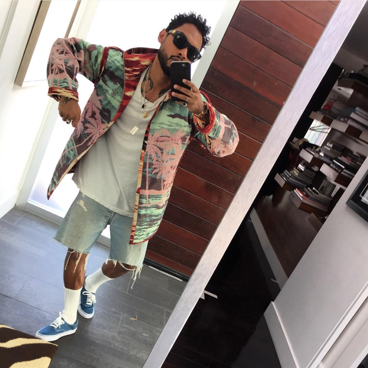 Miguel shows off his moves and style on instagram