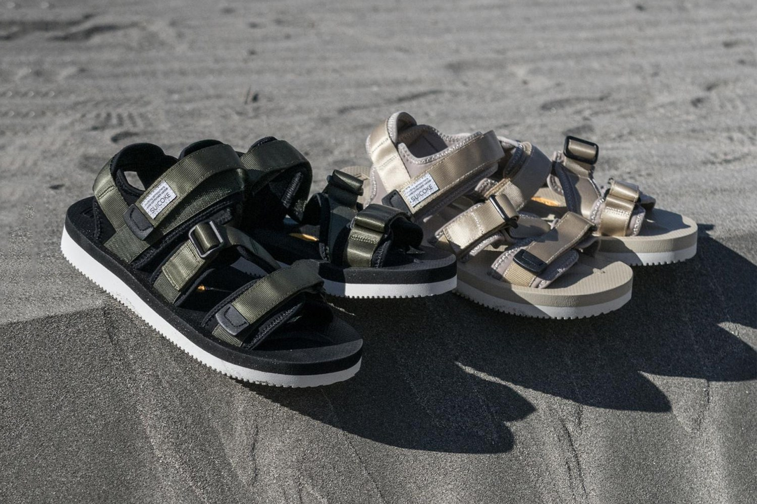 monkey time x SUICOKE KISEE Sandals & SHO Slides