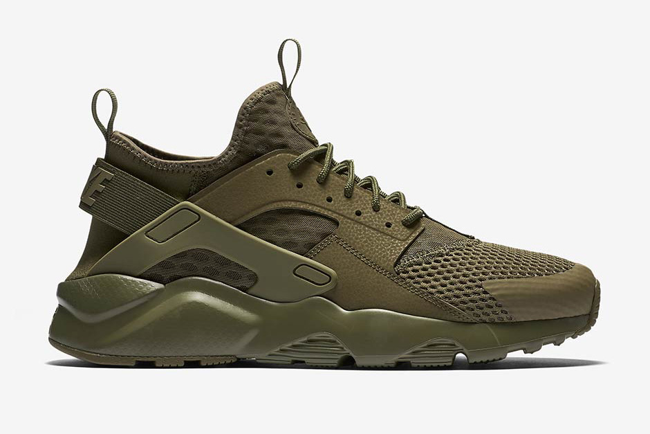 Sneaker Alert: Nike Air Huarache Ultra Military Green