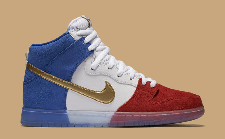 "Sneaker Watch: Nike SB Dunk High ""Tricolor"""
