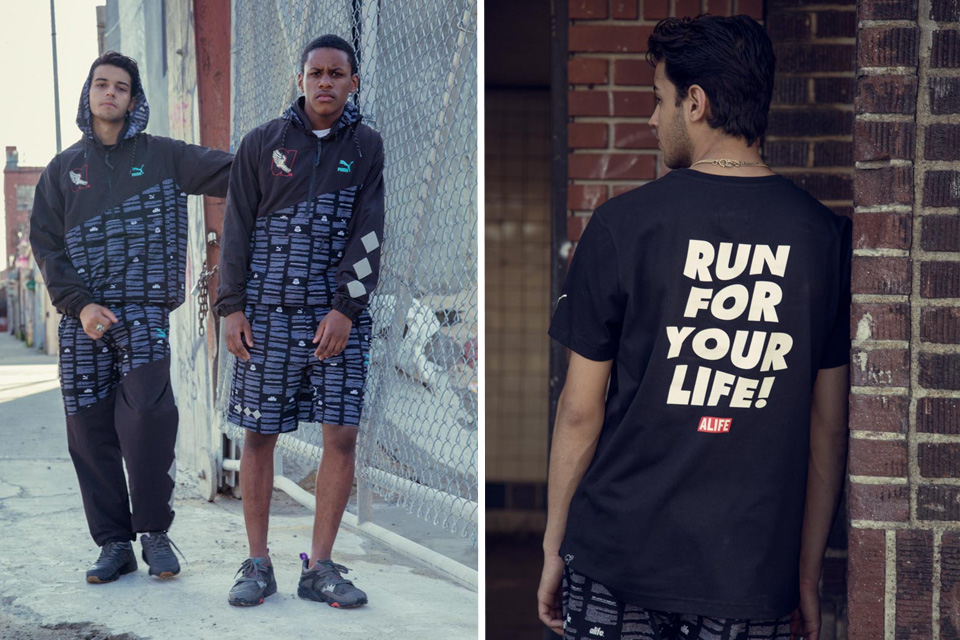 ALIFE and Puma Warns: 'Run for your Life'