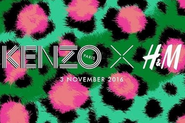 The Next Collaboration: KENZO x H&M