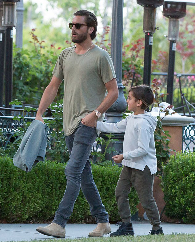 Spotted: Scott Disick In John Elliott, Saint Laurent, Common Projects to Yeezy Boosts