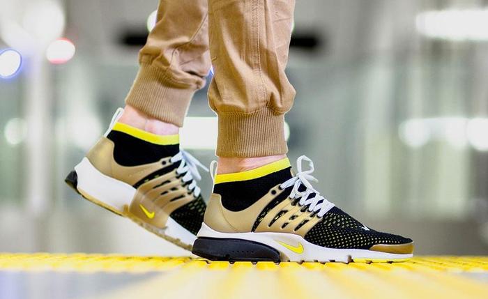 Sneaker Watch: Nike Air Presto Ultra Flyknit in Black/Yellow