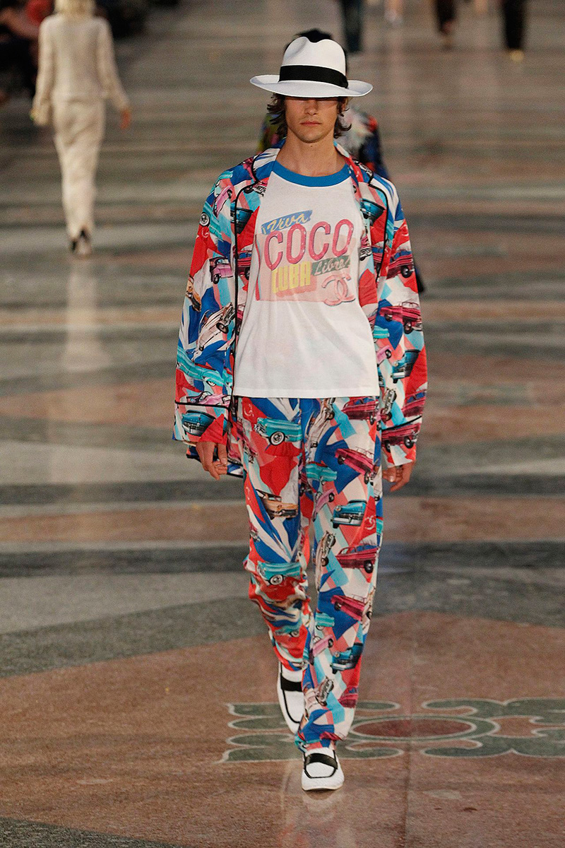 Chanel Cruise 2017 Menswear Collection