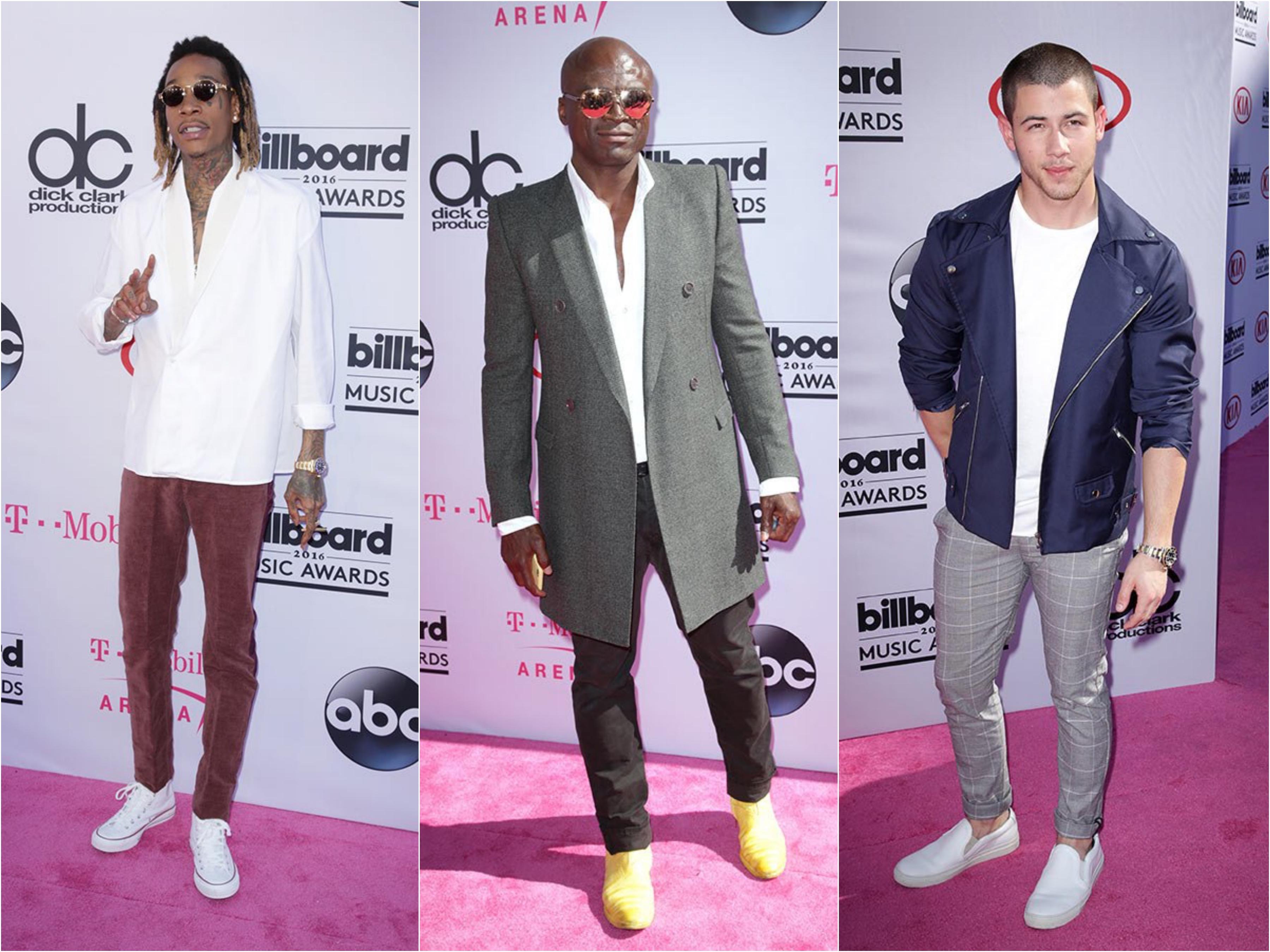 Red Carpet: Billboard Music Awards 2016 Men's Style