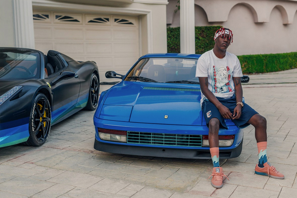 Lil Yachty Stars PUMA x Pink Dolphin Capsule Collection