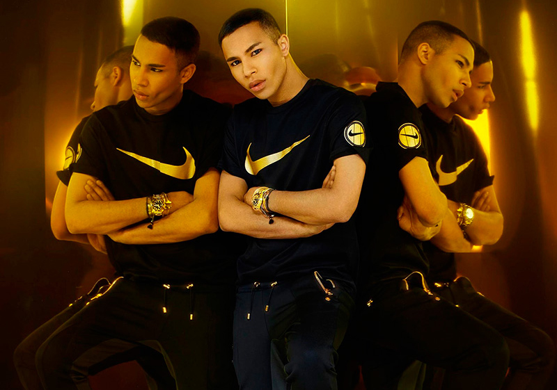 "NikeLab x Olivier Rousteing ""Football Nouveau"" Collection"
