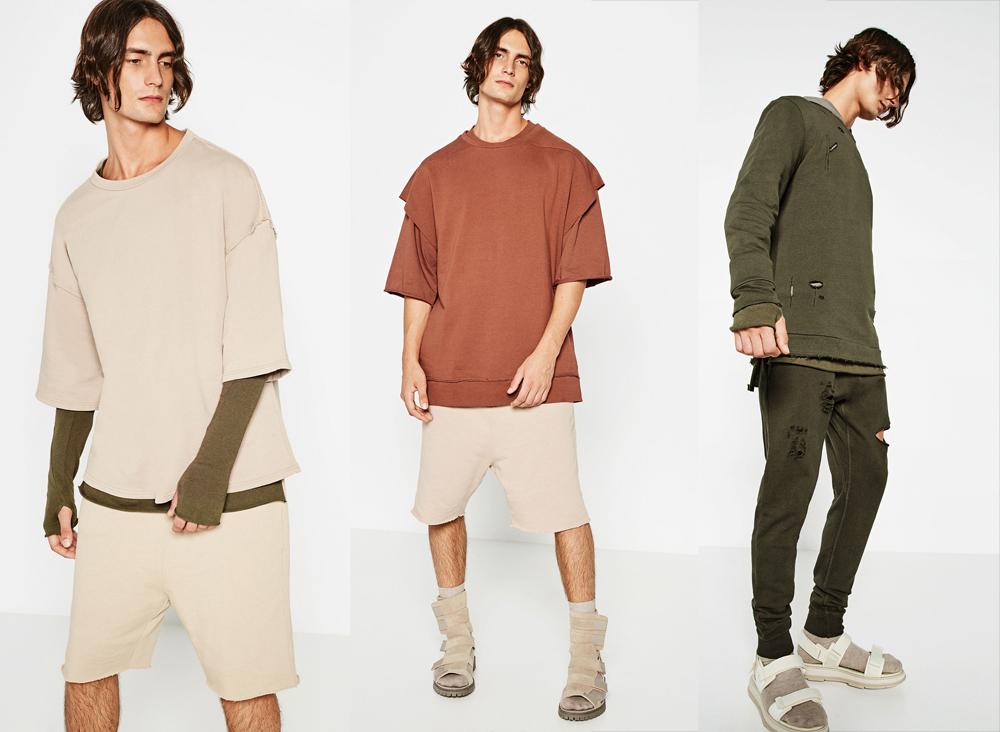 ZARA Menswear Recreates Yeezy Season 2
