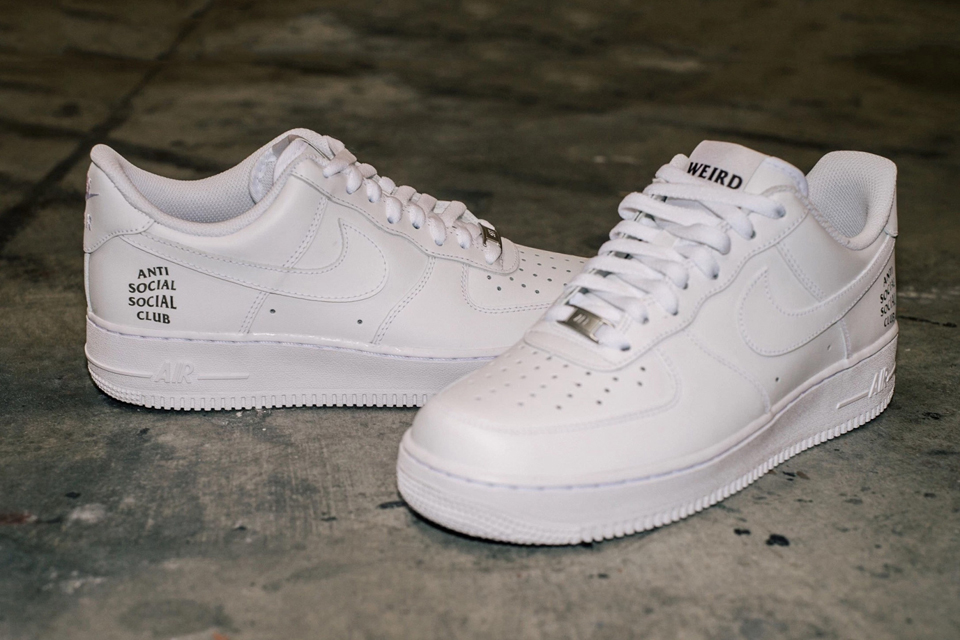 NIKE x Anti Social Social Club Nike Air Force 1s