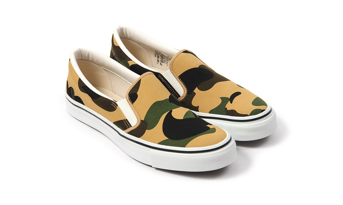 BAPE Reveal Its First Camo Slip-On for 2016