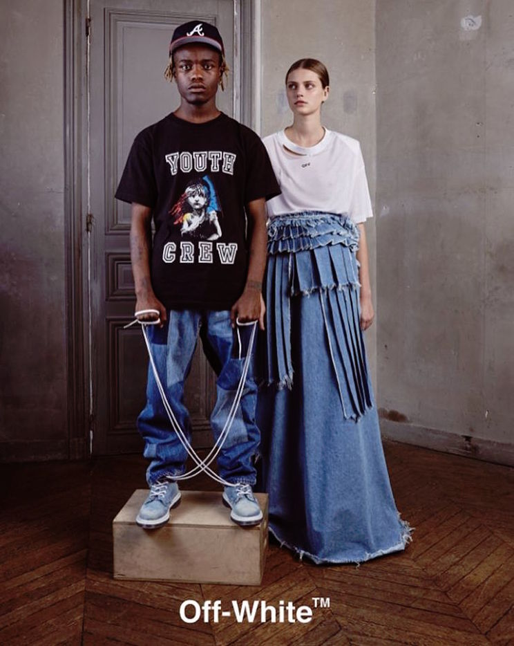 OFF-WHITE Reveals Controversial Ad Featuring Ian Connor