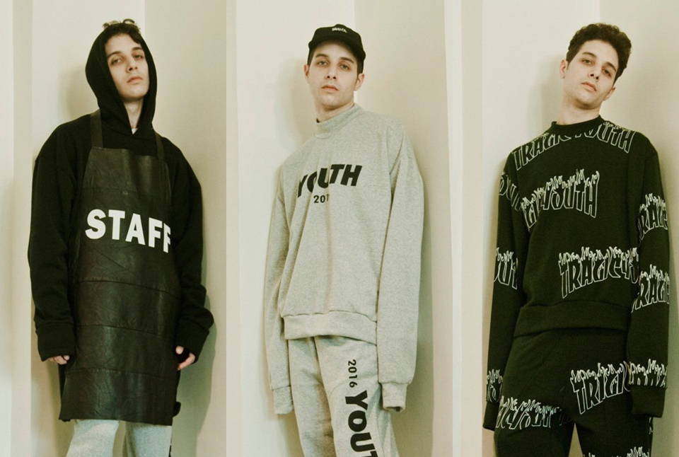 """Proudrace """"TRAGICYOUTH"""" Unisex Collection"""