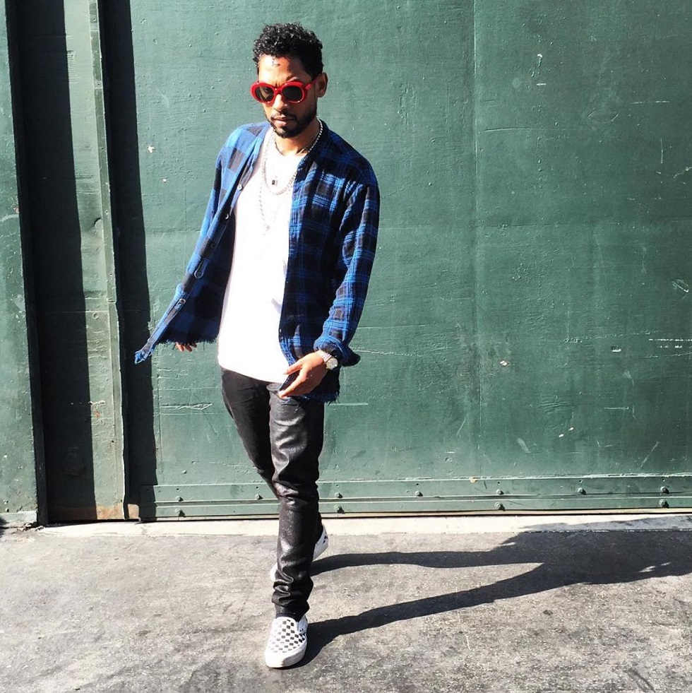 Spotted: Miguel in Saint Laurent Sunglasses