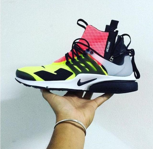 Sneaker Watch: ACRONYM x Nike Neon-Coloured Air Presto