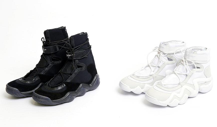 Yohji Yamamoto's adidas High Top Basketball Sneakers