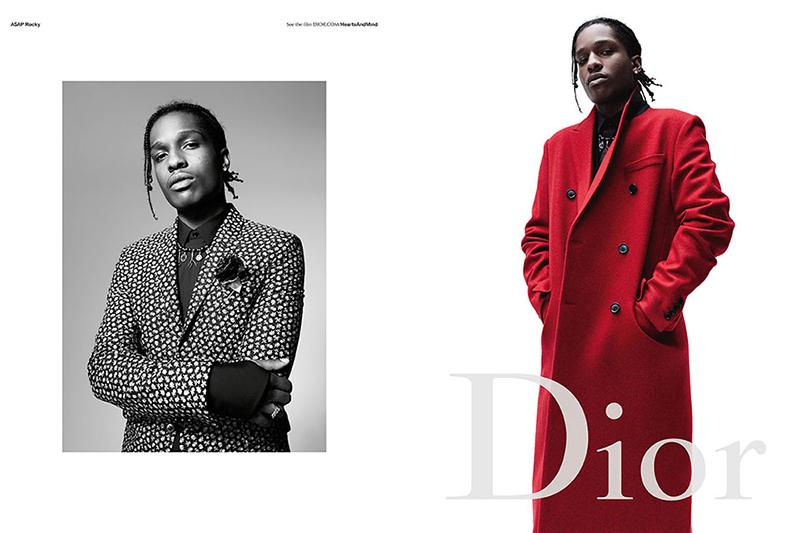 A$AP Rocky Hits Dior FW16 Campaign