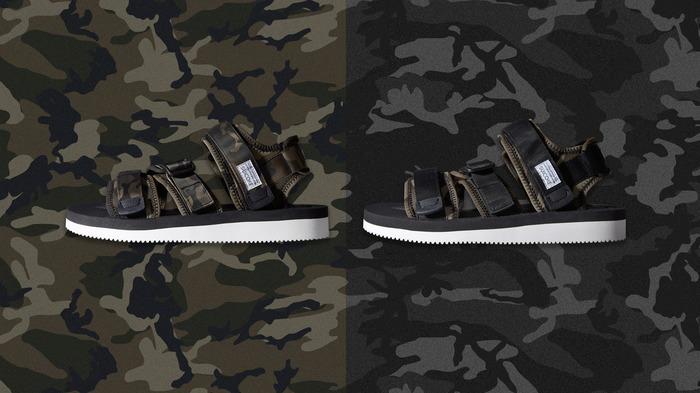 Suicoke x END Camouflage Kisee-V Sandal