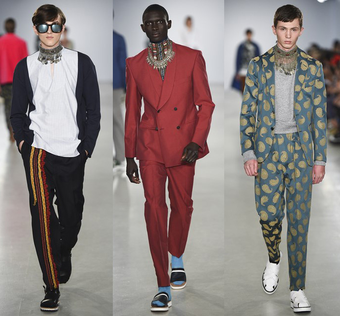 LCM: Casely-Hayford Spring/Summer 2017 Collection