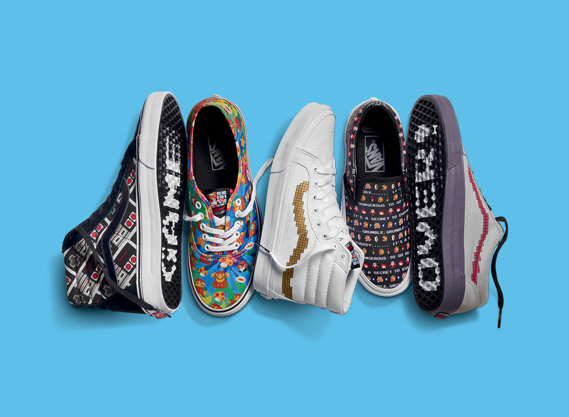 Vans x Nintendo Spring/Summer 2016 Collection
