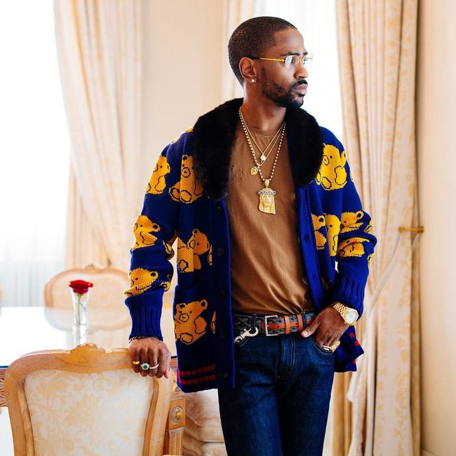 Spotted: Big Sean In Gucci, Goyard And Cartier Glasses