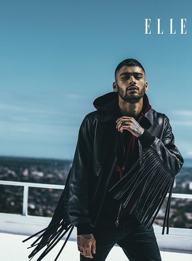 Spotted: Zayn Malik In Givenchy Jacket For ELLE UK