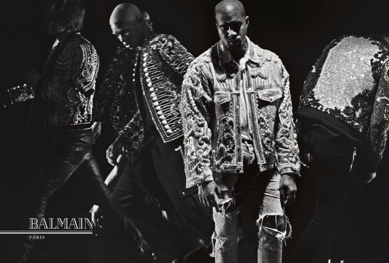 Balmain 'Fashion Meets Music' Fall/Winter 2016 Campaign