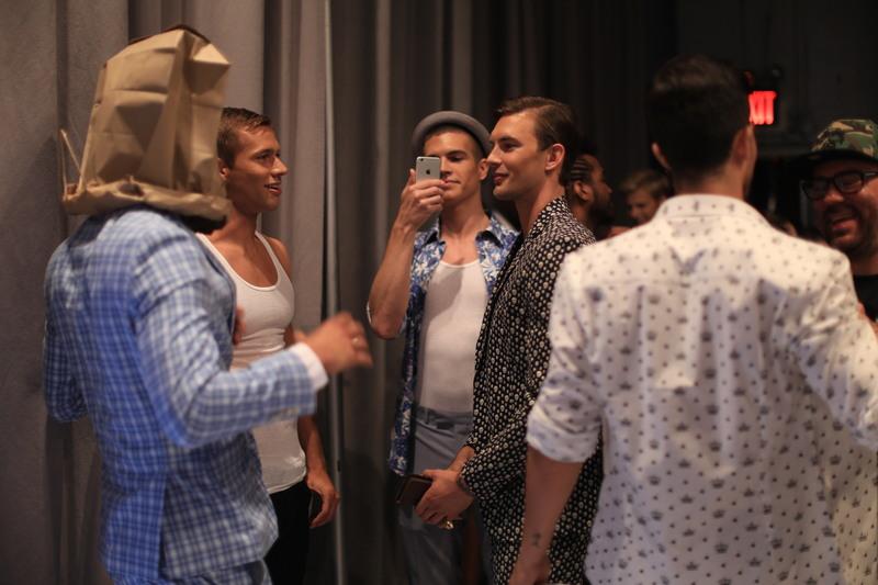 NYFWM Backstage: Nick Graham SS17 Collection