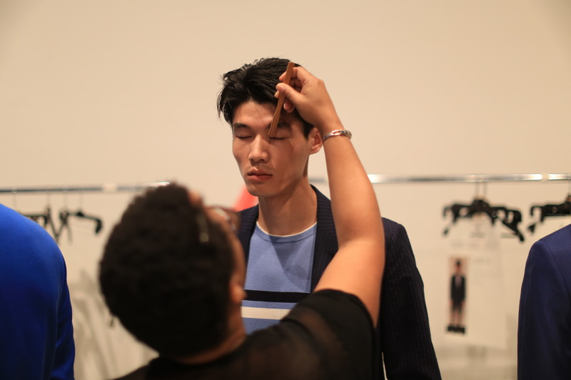 NYFWM Backstage: Todd Snyder SS17 Show
