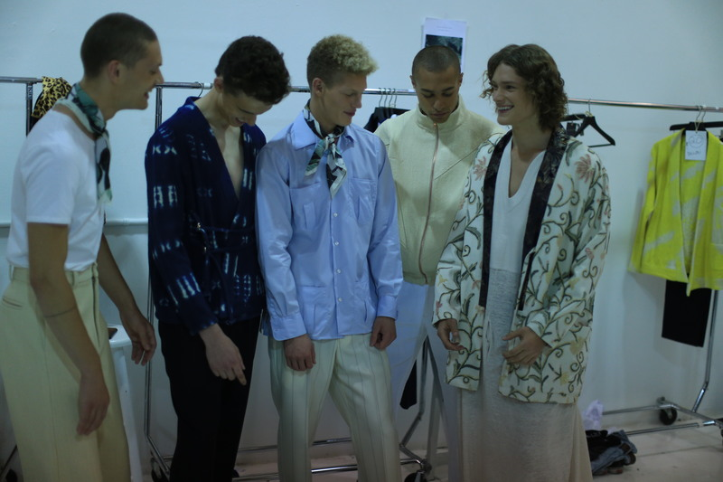 NYFWM Backstage: Palmiers Du Mal SS17 Show