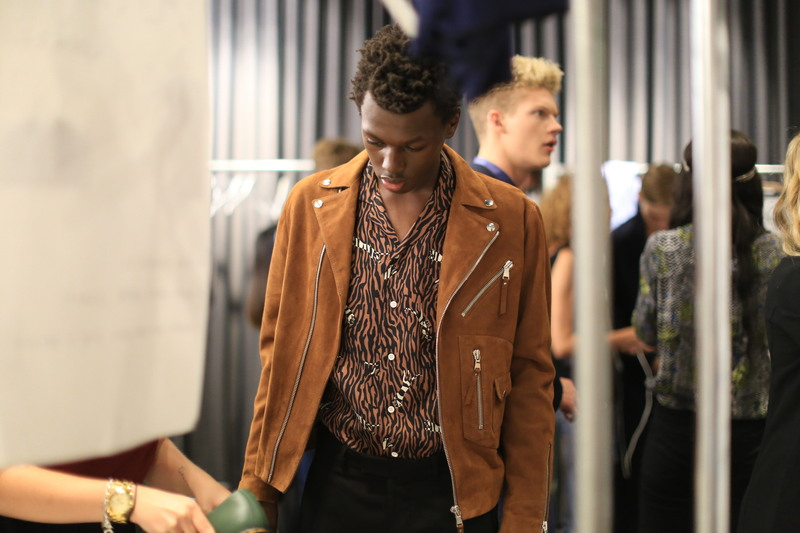 NYFWM Backstage: Timo Weiland SS17 Show
