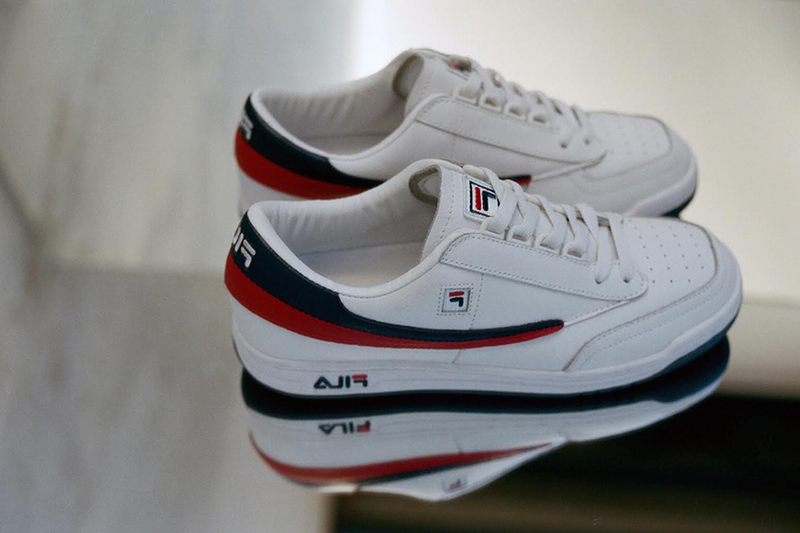 FILA Revisits 80's and 90's Favourites For UK Footwear Launch