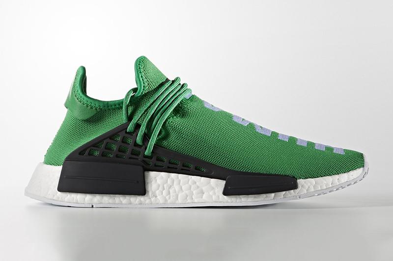 "Pharrell x Adidas: The ""Human Race"" NMD In Green"
