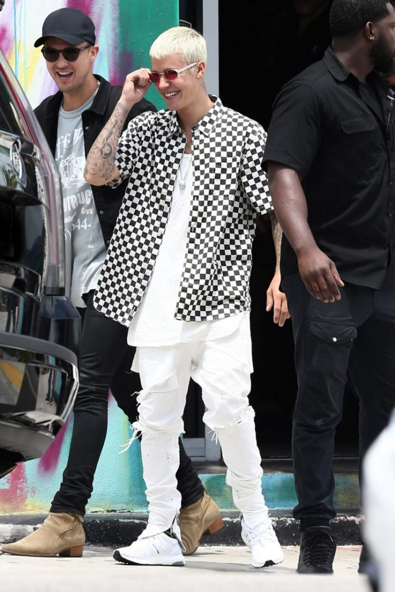 Spotted: Justin Bieber In Fear Of God, Adidas & Cartier