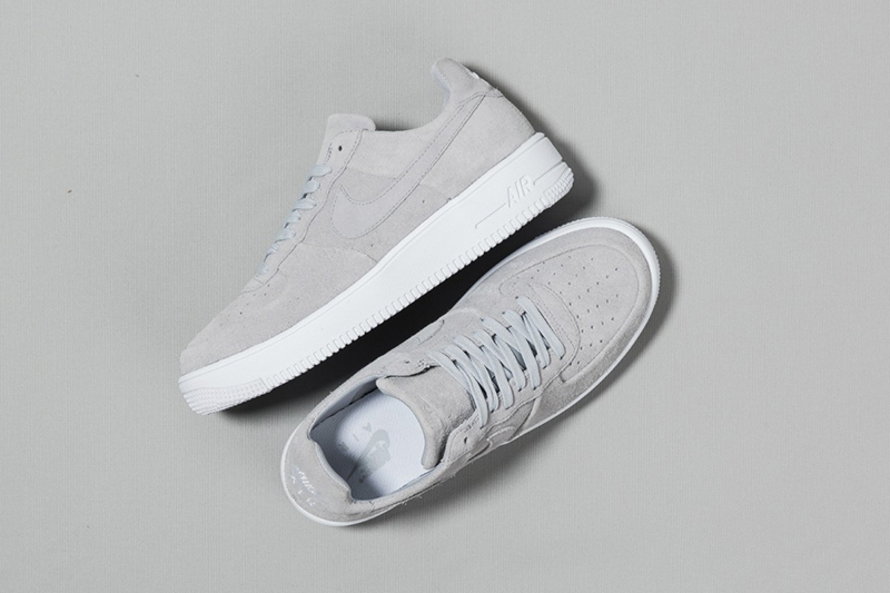 Nike Reinvent The Air Force 1 In Wolf Grey
