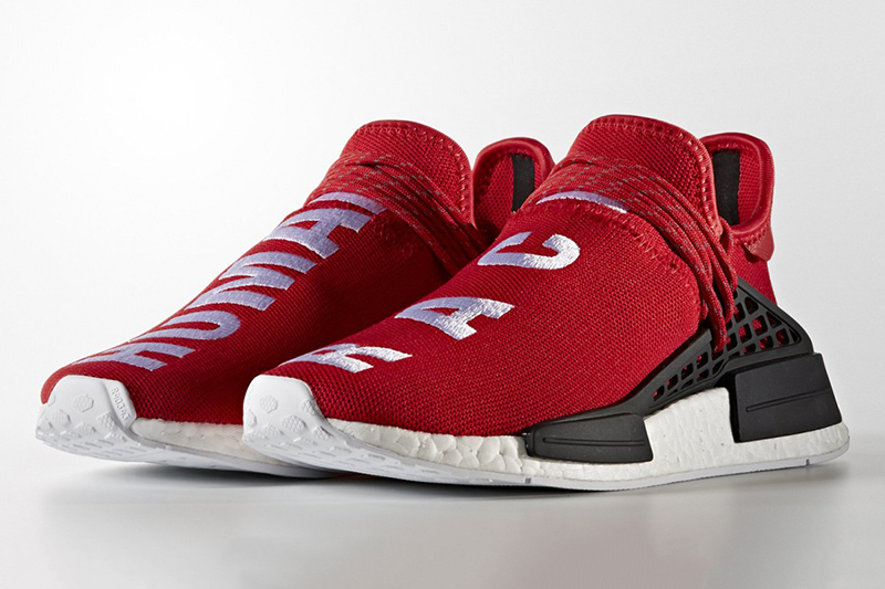 Pharrell x Adidas: The New Red 'Human Race' NMD